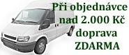 Při objednání zboží v ceně nad 2.000 Kč zaplatíme dopravu k Vám domů my!