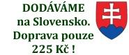 Objednávky doručujeme i do zahraničí, tedy i na Slovensko